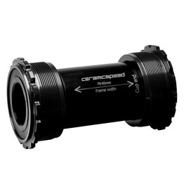 Ceramic speed BB T45 SHIMANO BLK NON COATED