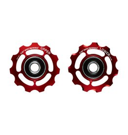 Ceramic speed GALETS CAMPY 11S ROUGE NON COATED