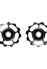 Ceramic speed PULLEY WHEELS SHIMANO 11S TITANIUM COATED