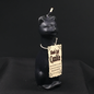 Hex Cat Candle Black