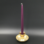 """Hex 12"""" Taper Candle - Purple"""