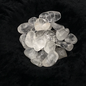 Hex Tumbled Clear Quartz Crystal