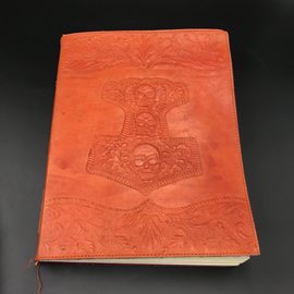 Hex Large Mjolnir Journal in Orange