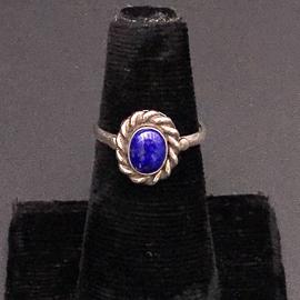 Hex Petite Lapis Ring