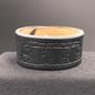 Hex 1 In. Stonehenge Single Closure Leather Cuff