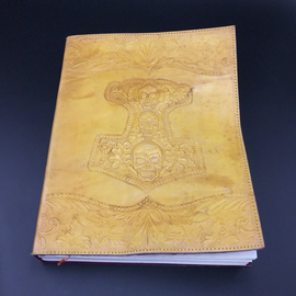 Hex Large Mjolnir Journal in Yellow