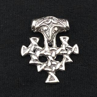 Hex Thor's Hammer Hiddenssee in Silver
