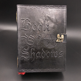 Hex Small Book of Shadows Journal in Black