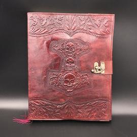 Hex Large Mjolnir Journal in Brown