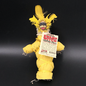Hex New Orleans Swamp Witch Voodoo Doll in Yellow