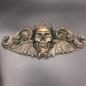 Hex King Moriendi Wall Plaque in Bronze Finish