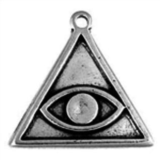 Hex Avert Evil Eye Talisman Pendant