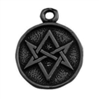 Hex Magic Hexagram Talisman Pendant