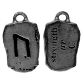 Hex Ur Rune Pendant - Strength