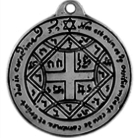 Hex Pentacle Love Talisman Pendant