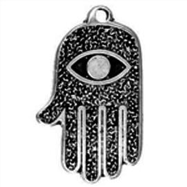Hex All Seeing Eye Hand Talisman Pendant