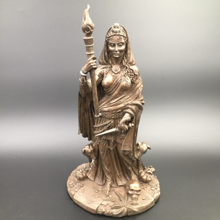 Hex Hecate Statue by Maxine Miller in Bronze