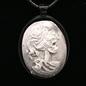 Hex Skeletal Beauty Necklace