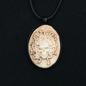 Hex Medusa Skull Necklace