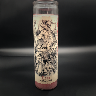 Hex 7-Day Love Candle by Sabrina the Ink Witch