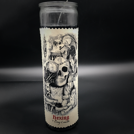 Hex 7-Day Hexing Candle by Sabrina the Ink Witch