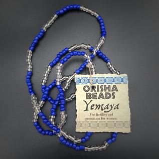 Hex Yemaya Orisha Beads