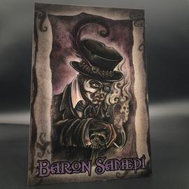 Hex Baron Samedi Postcard