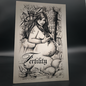 Hex Fertility Postcard by Sabrina the Ink Witch