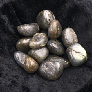 Hex Tumbled Labradorite