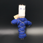 Hex Old New Orleans Voodoo Doll in Blue
