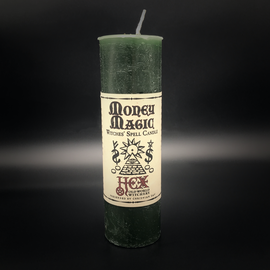 Hex Hex Pillar Candle - Money Magic
