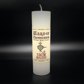 Hex Hex Pillar Candle - Ward of Protection