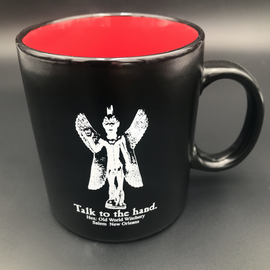 Hex Talk To The Hand - Mug