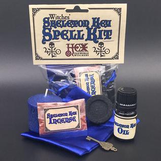 Hex Salem Witches' Skeleton Key Spell Kit