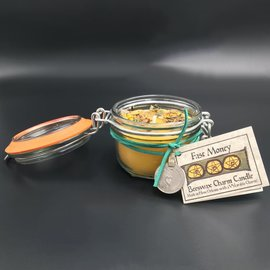 Hex Fast Money Beeswax Charm Candle 5.4oz