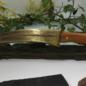 Hex Hand Cast Bronze Blade With Yew Wood Handle