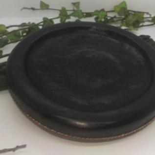 Hex Vintage Mahogany Scrying/Gazing/ Hydromancy, Bowl