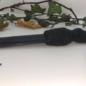 Hex Welsh Slate Athame With a Bog Oak Handle