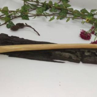 Hex Natural Hawthorn Wood Wand