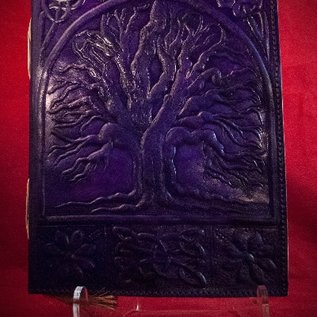 Hex Small Tree of Life Journal in Purple