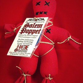 Hex Bridget Bishop's Red Salem Poppet