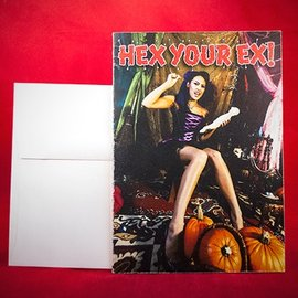 Hex Greeting Card - Hex Your Ex