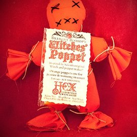 Hex Bridget Bishop's Orange Salem Poppet
