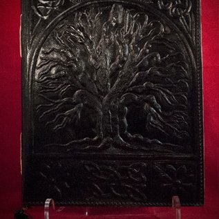 Hex Small Tree of Life Journal in Black