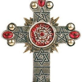 Hex The Rose Cross Pendant: High Magick