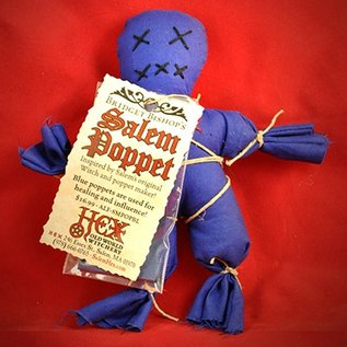 Hex Bridget Bishop's Blue Salem Poppet