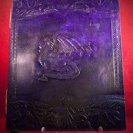 Hex Large Dragon Journal in Purple