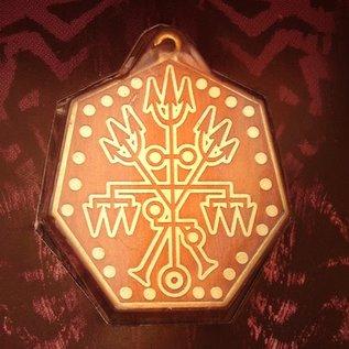 Hex Healing Voodoo Charm Pendant