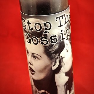 Hex Stop the Gossip! 7-Day Candle