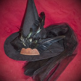 Hex Salem Witch Grave Image Hat